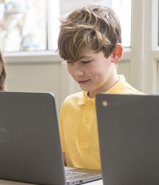 Using Laptops at Broomfield School 4