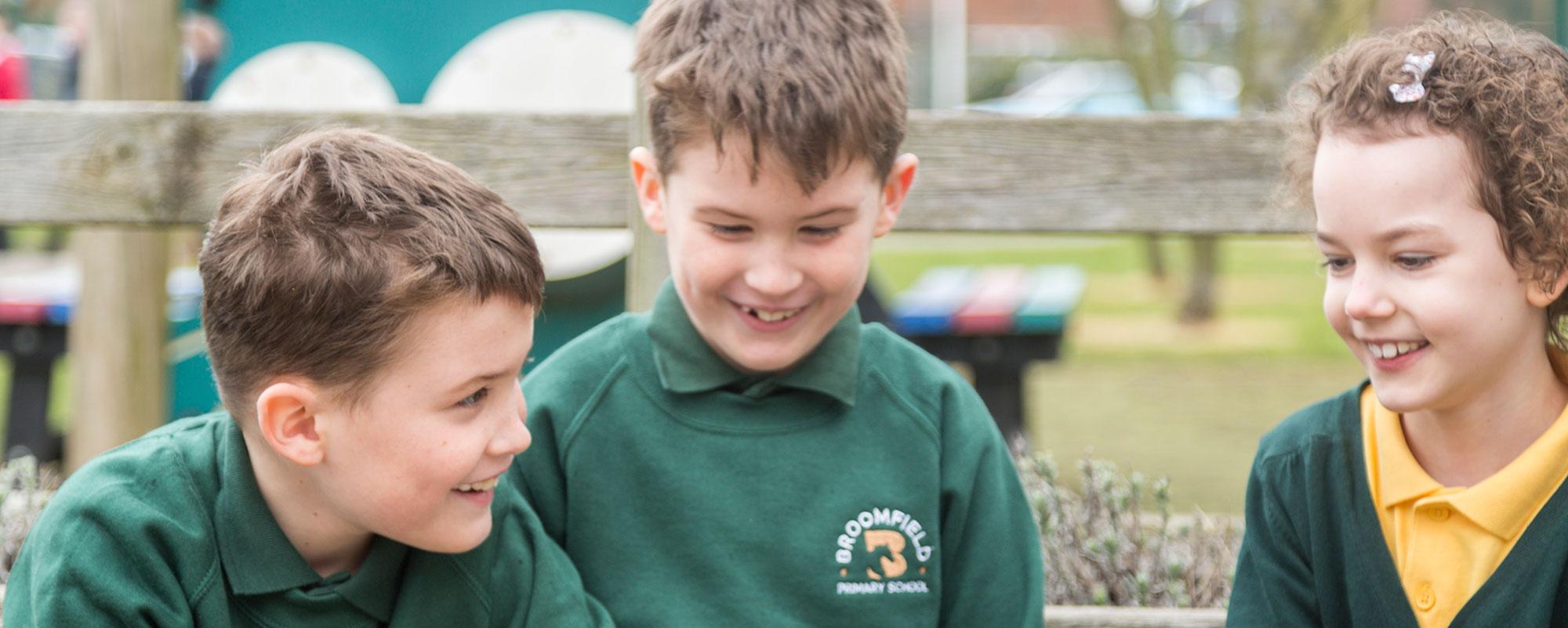 Broomfield Primary School Reading Header