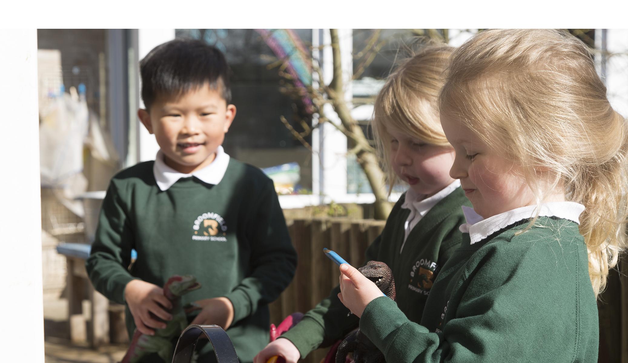 Broomfield Primary School funding Header